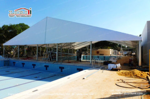 pool tent cover