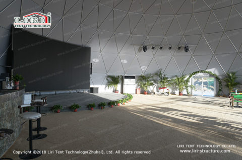 Fabric Dome catering tent