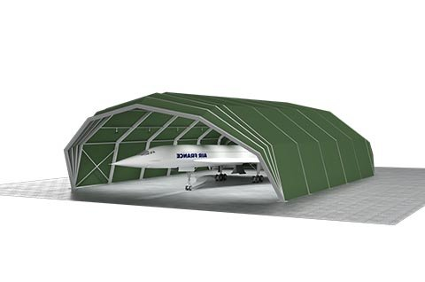 Hangar Tent 3d