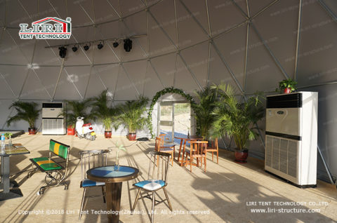 big catering tent
