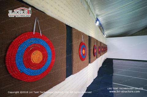 design indoor archery