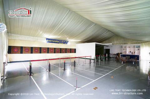 how to build an indoor archery range