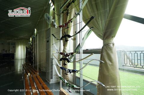 indoor archery tent