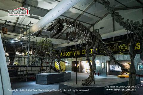 Exhibit Tent for Dinosaur Museum