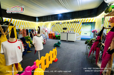 clothing and toys shop