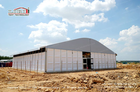 outdoor temporary storage tent