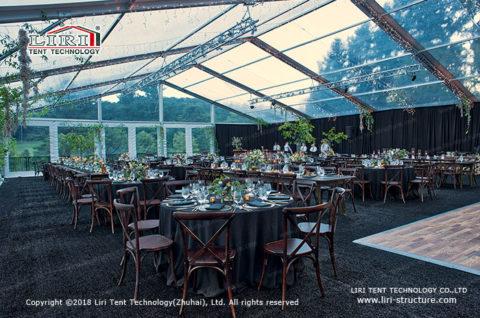 party tent luxury