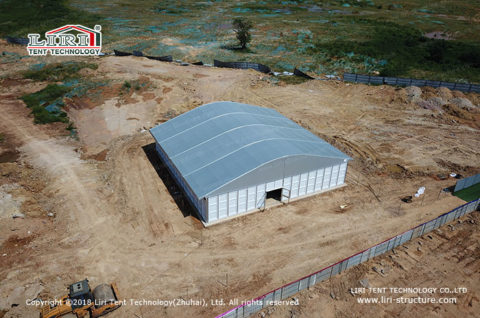 temporary storage tent hire