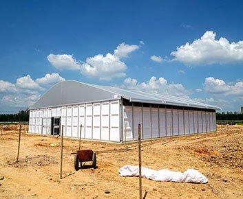temporary storage tents
