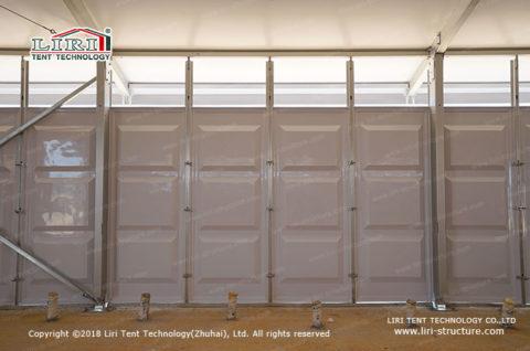 temporary tent storage