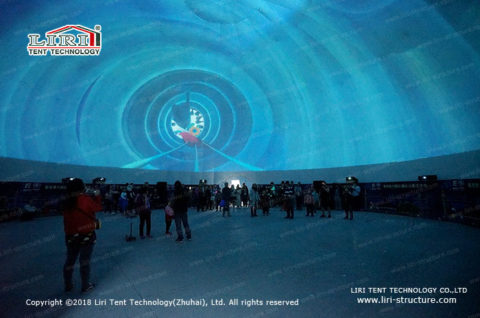 360 Video Projection dome