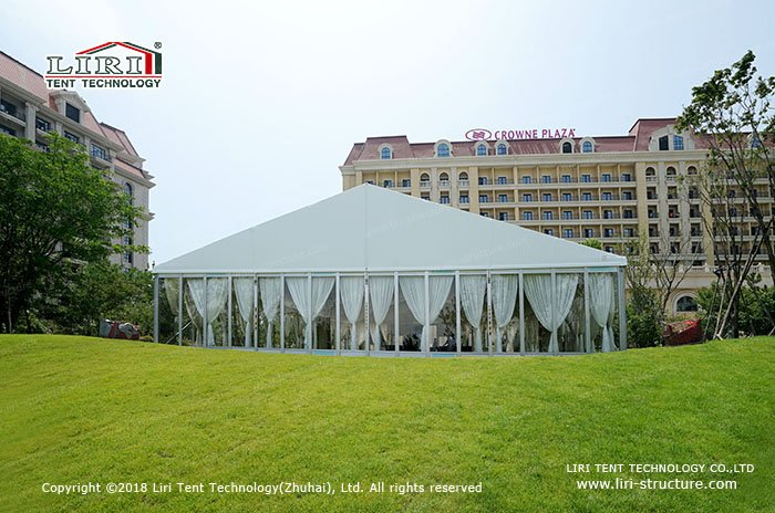 The size of the wedding tent & How much does a wedding tent cost? - Liri Tent Structure