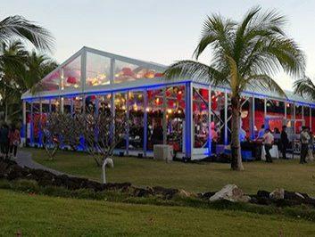 Company Anniversary Party tent