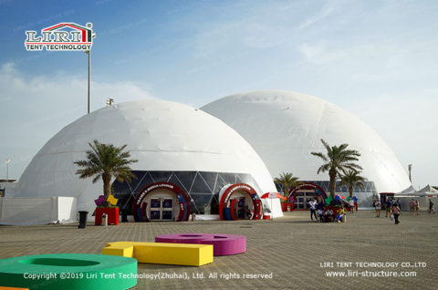 60m Outdoor Geodesic Dome Tents