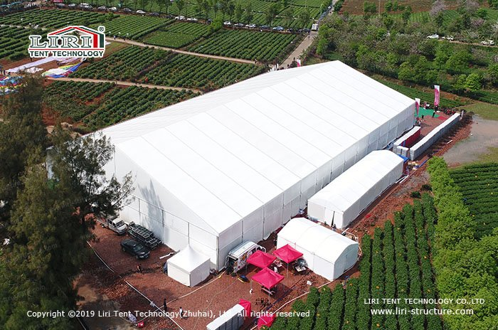 6m height of event tent