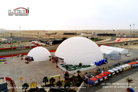 Geodesic Dome Tent for F1