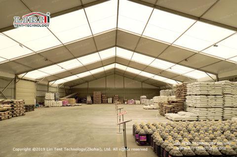 Clear Span Warehouse canopy