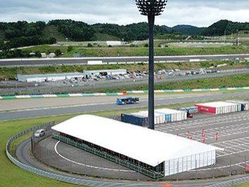 Outdoor Event Tent Rental for Ferrari Challenge