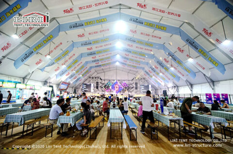 Beer Tent for 3000 People 1