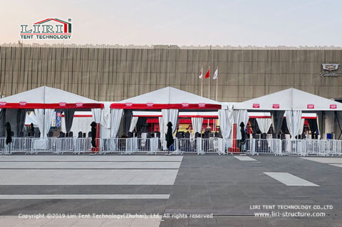 Event tents for sporting events
