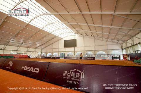 Indoor Tennis Court Construction