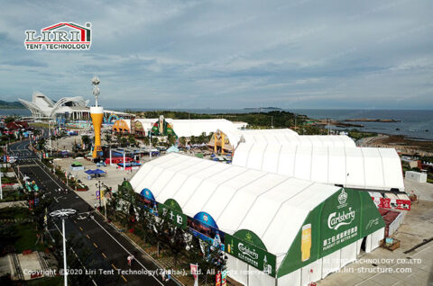 Large Beer Festival Event Tent