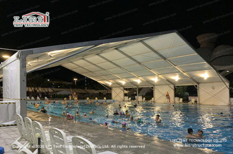 Clear Span Tent for Pool