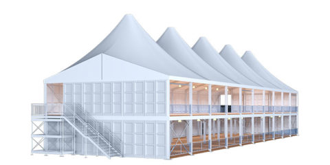 High Peak Two Story Tent