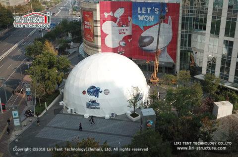25m diameter planetarium dome