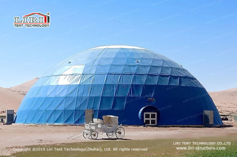 30m Large Geodesic party Dome Tent