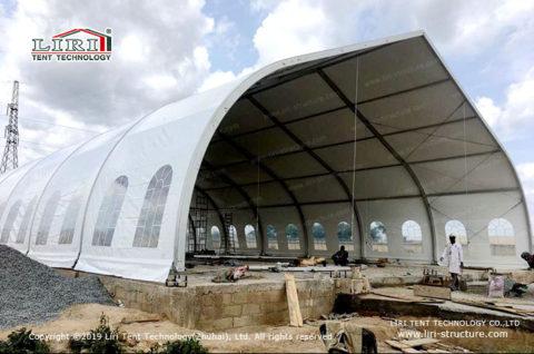 Bulk Storage shed construction