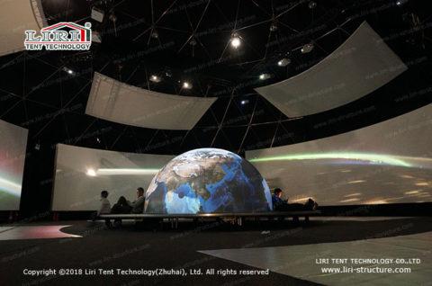 Dome Planetarium Construction