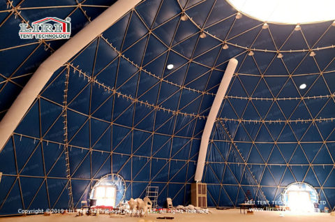 Geodesic Party Dome Tent