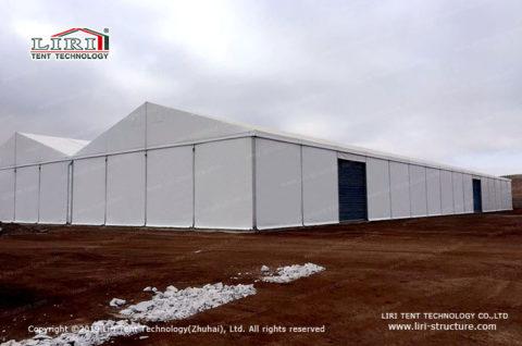 Industrial Bulk Fabric Building