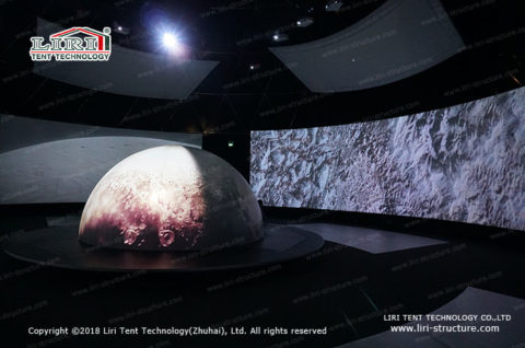 Planetarium dome Full Dome Movie