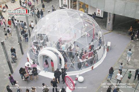 Transparent Party Dome