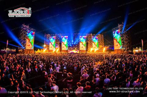 dance music festivals tent