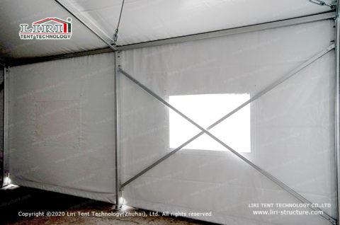 Frame Hospital tent