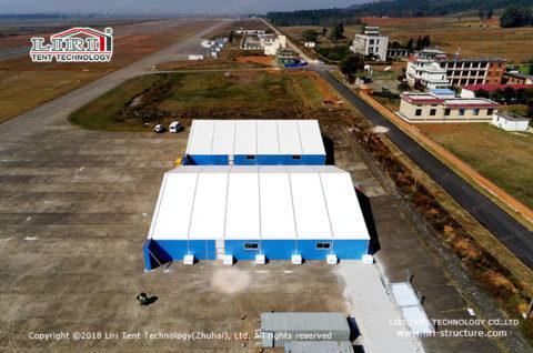 Aluminum Frame Portable Airplane Hangar Tent 2