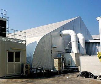 Blast Resistant Tent Structures