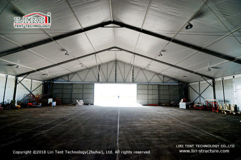 Metal frame tensile structure 2