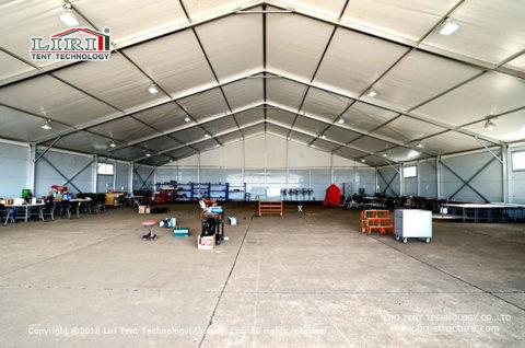 Portable Rainproof Aircraft Hangar Tent 2