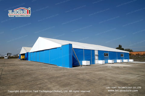 portable aircraft hangar 2