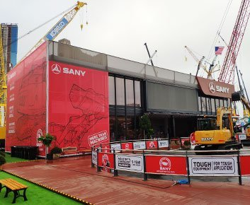 two Story trade show Tent