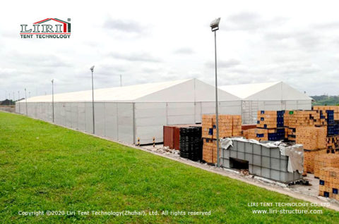 Insulated Temporary Portable Warehouse