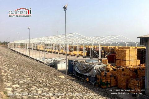 Temporary Storage Shelter