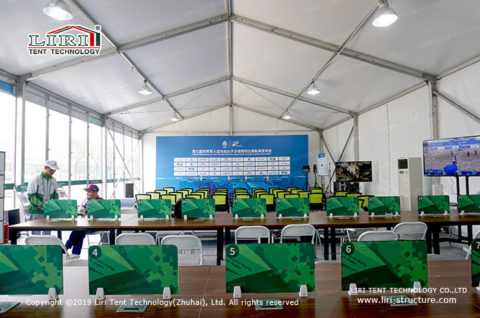 Tent Canteen Structures