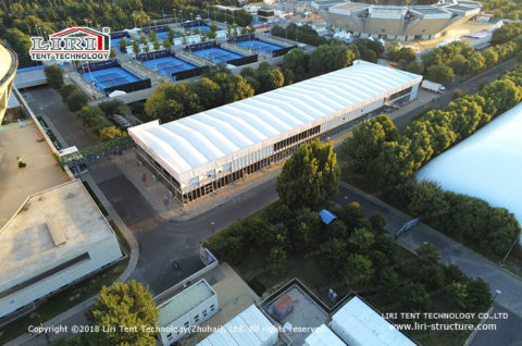 White Fabric Structure for Canteen