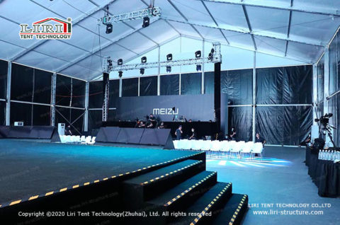 Big Conference Tent Meeting