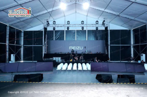 Huge Fabric Structures for Conference